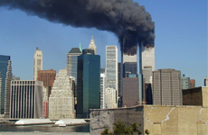 911 world trade center smoking