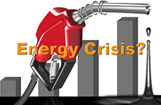 gas pump, oil, graph, energy crisis